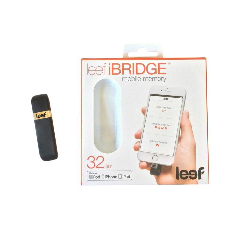 Leef iBridge Flashdisk OTG - Hitam [32 GB]
