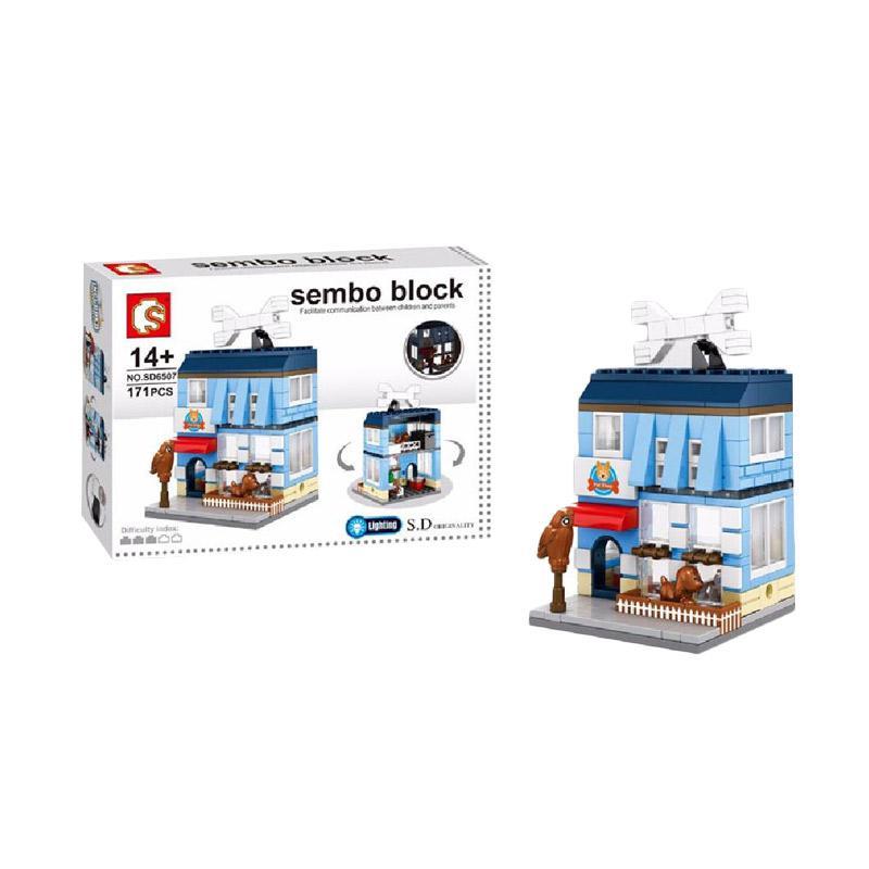 Sembo Sd6507 Pet Shop Mini Blocks