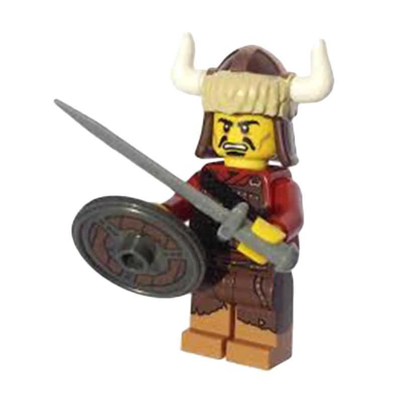 Lego S12 Hun Warrior Minifigure Mainan Anak