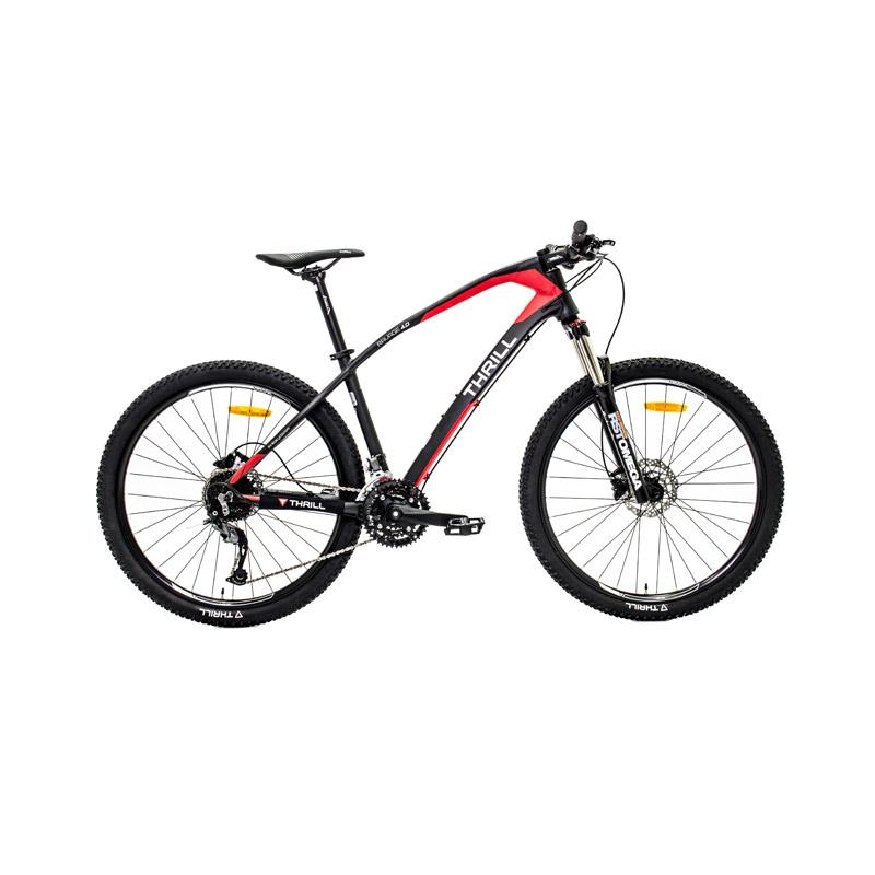THRILL Ravage 4.0 AGMT Sepeda - BLK/RED [27.5 x 16]