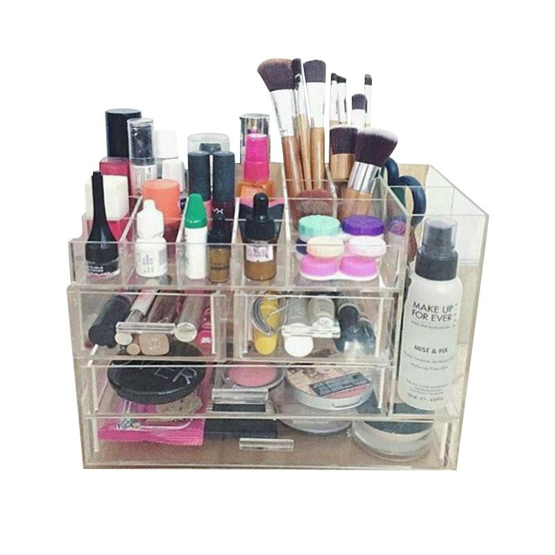 Acrylic MakeUp Tipe K4 Make Up Organizer