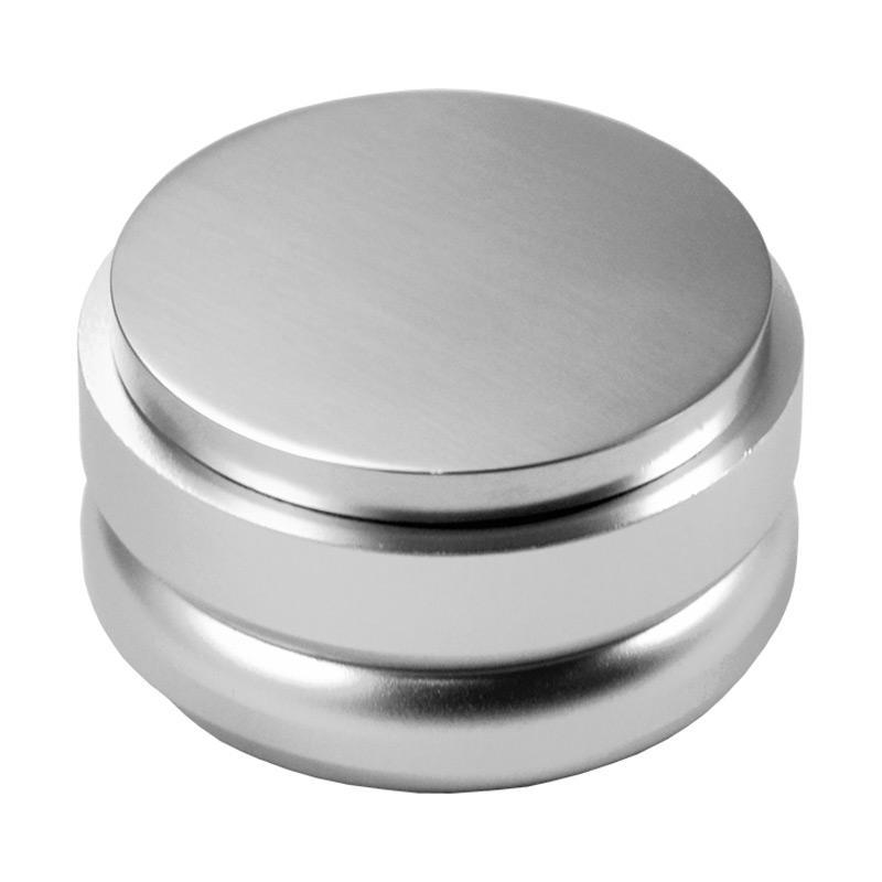 Macaron Coffee Tamper - Silver