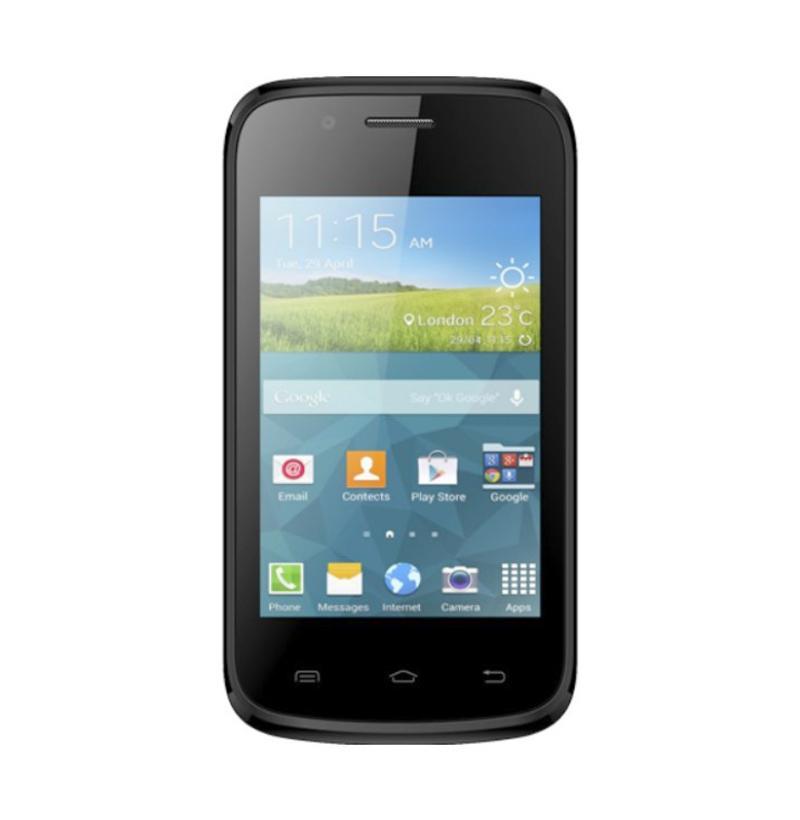 Evercoss A33E Smartphone - Hitam Merah [512 MB/ 256 MB]