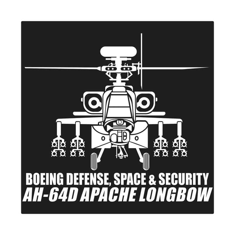 Kyle AH 64D Missiles Cutting Sticker