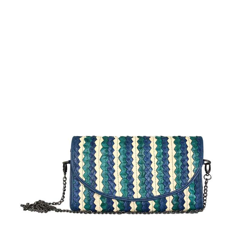 Du Anyam Braided Clutch Ruby Clutch