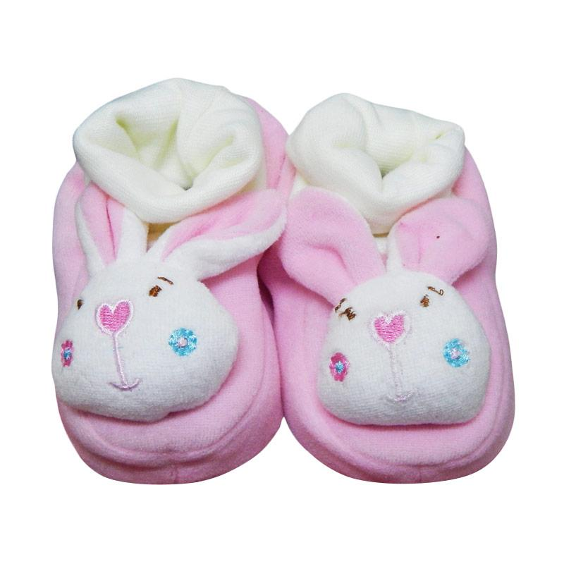 Wonderland Baby Sock Rattle Bunny Kaos Kaki Bayi