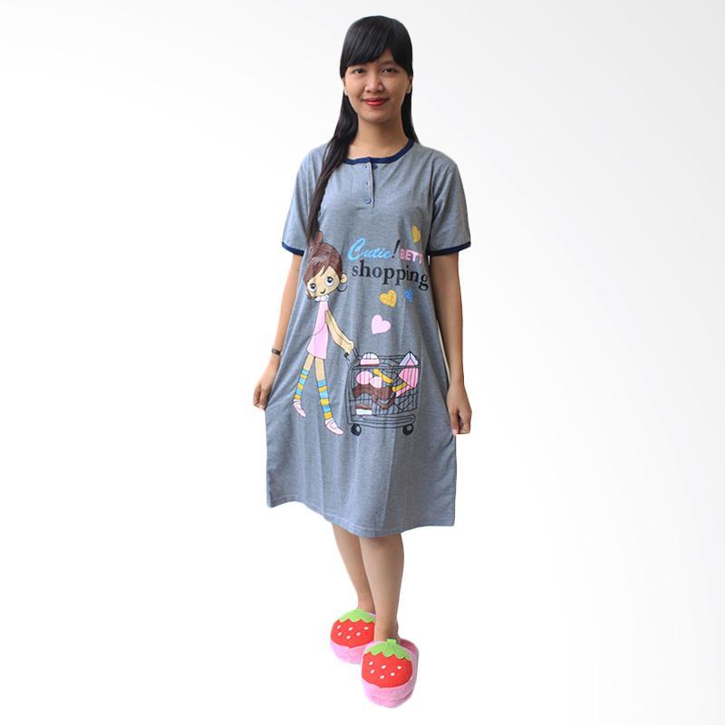 Aily 814 Baby Doll Daster Wanita - Navy