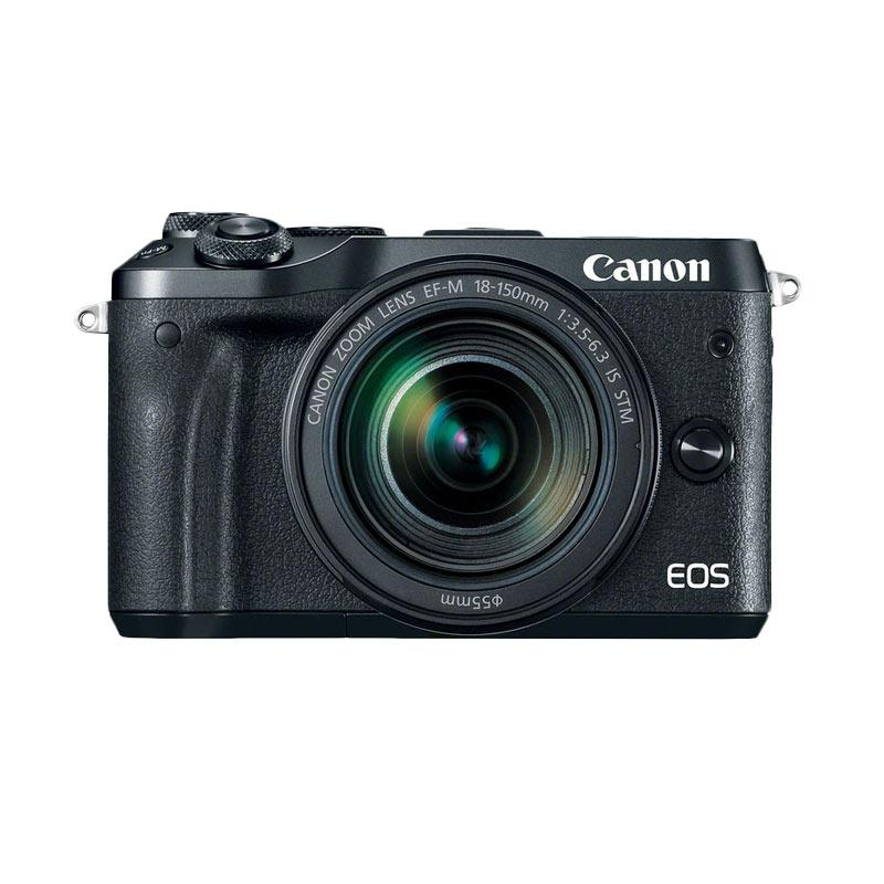 Canon EOS M6 Kit 18-150mm Kamera Mirrorless - Black