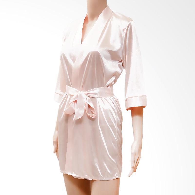 harga Kimochi Me Lingerie CKIM039 Kimono Lingerie - Cream Blibli.com