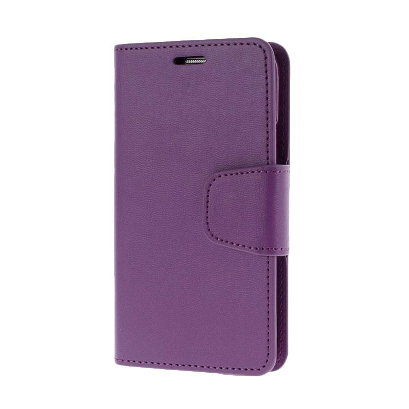 Mercury Standing Flip Cover Casing for Samsung Galaxy S5 - Purple