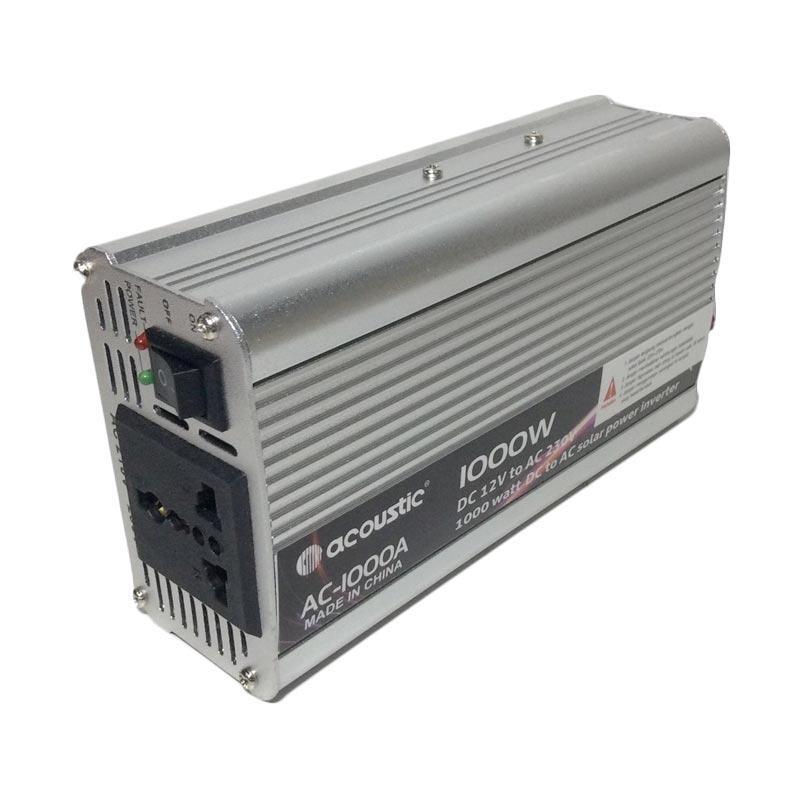 harga Acoustic Inverter Alat Pengubah Arus Daya Listrik [1000 W] Blibli.com