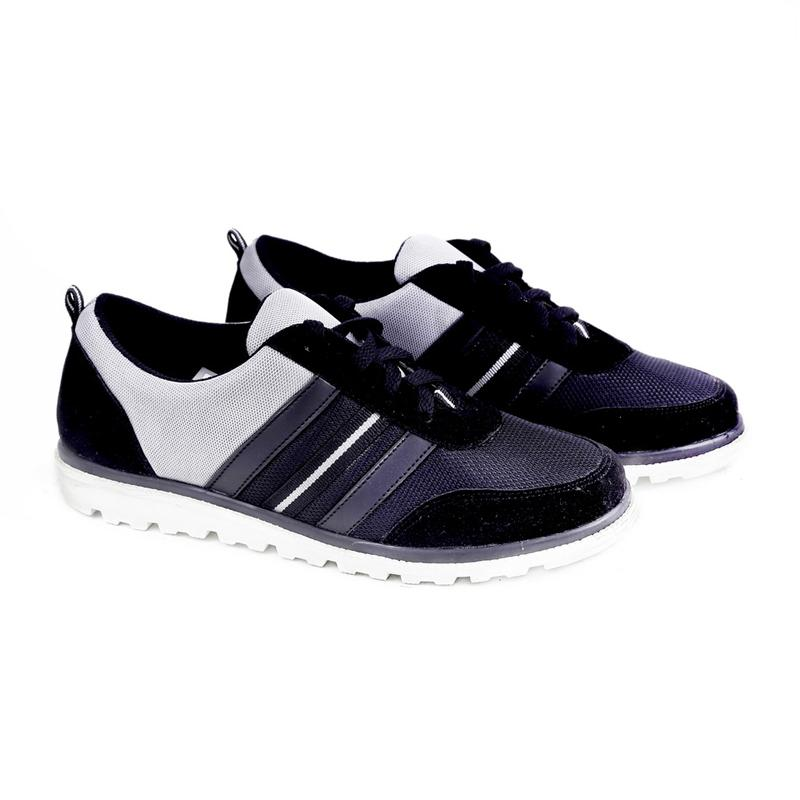 Garucci GUS 7197 Sneakers Shoes Wanita - Black