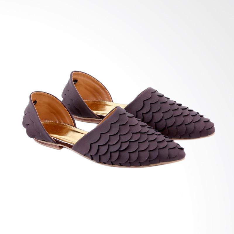 Garucci GRA 6161 Slip On Sepatu Wanita - Brown