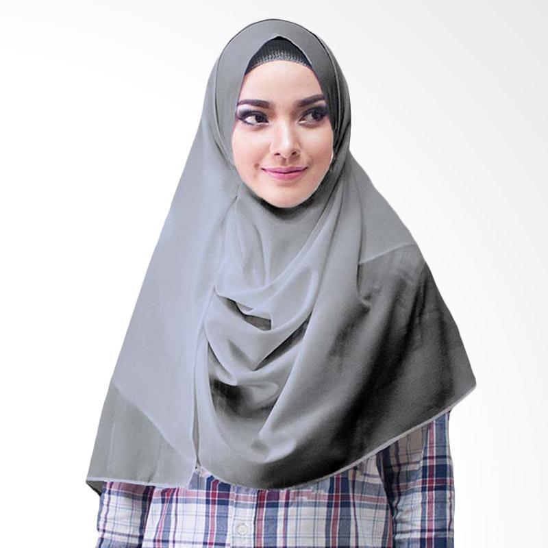 Milyarda Hijab Paloma Diamond Hijab Instan - Abu Tua