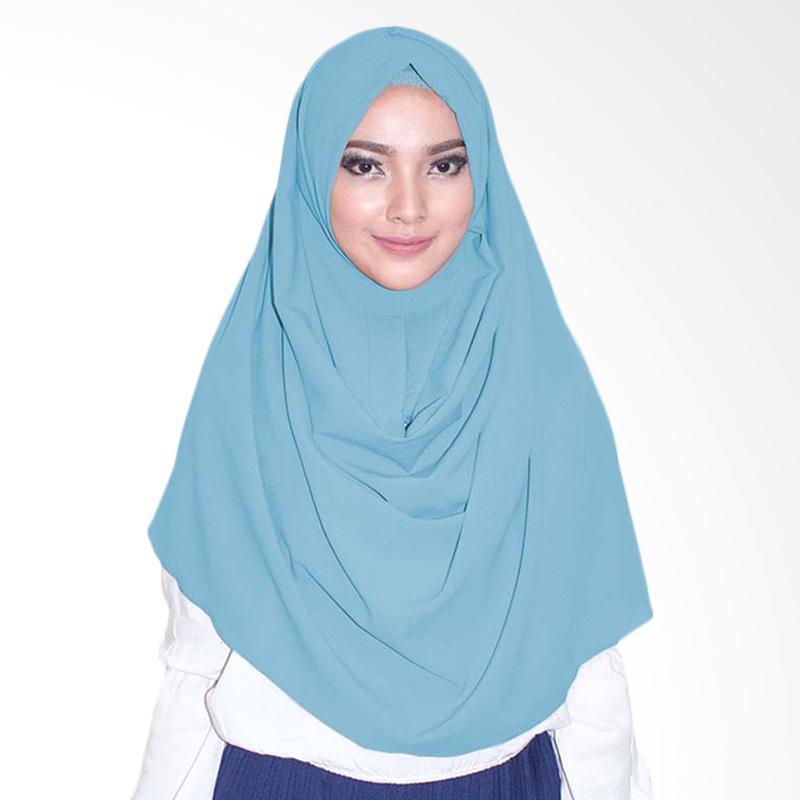 Milyarda Hijab Emily Hijab instan - Baby Blue