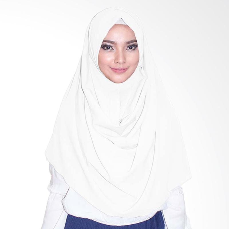 Milyarda Hijab  Emily Jilbab Instan - Putih