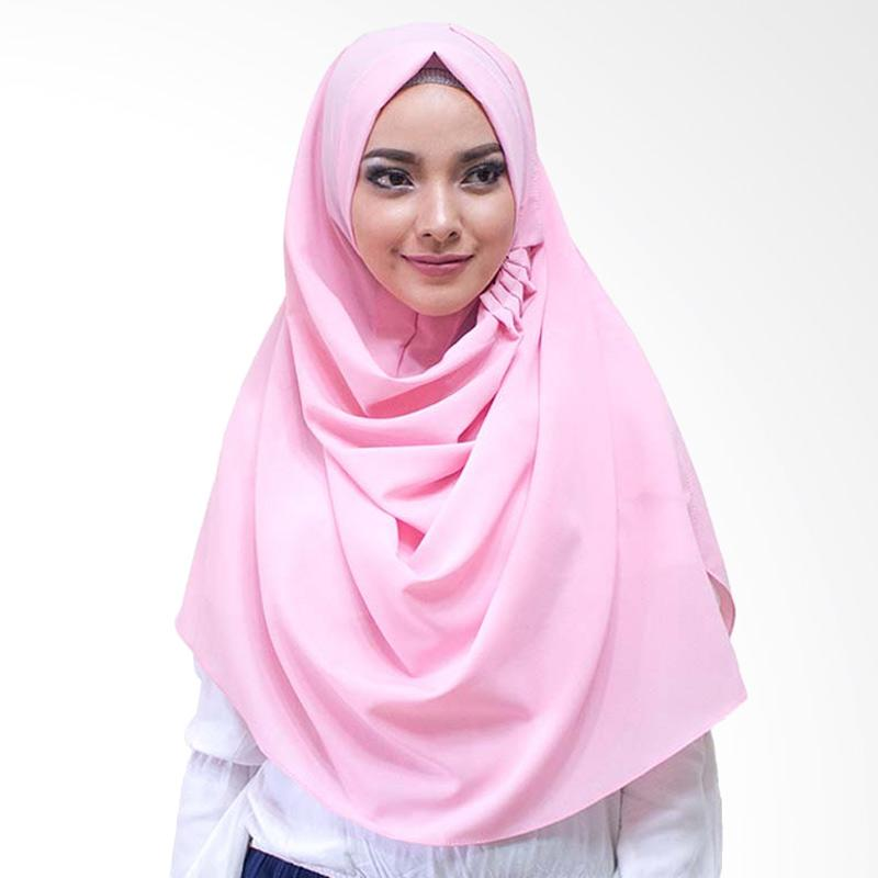 Milyarda Hijab LCB Laudya Jilbab Instan - Dusty Pink