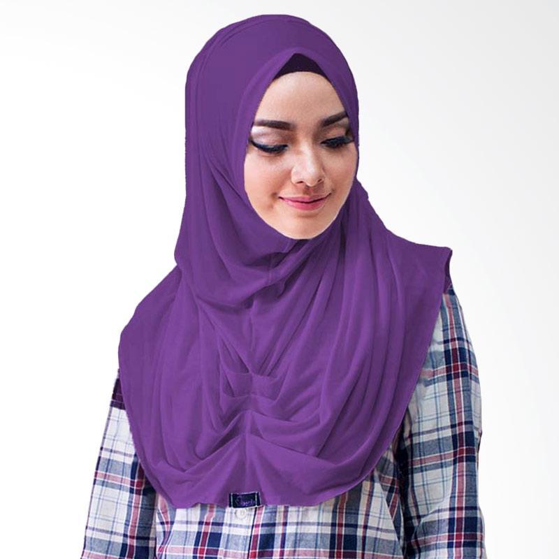 Milyarda Hijab Loly Jilbab Instant - Ungu