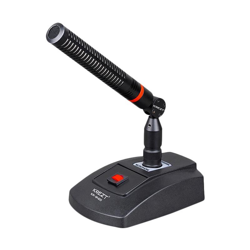 harga Krezt Professional Gooseneck Condensor KR-9420 Microphone [Mic Conference/ Mic Podium] Blibli.com