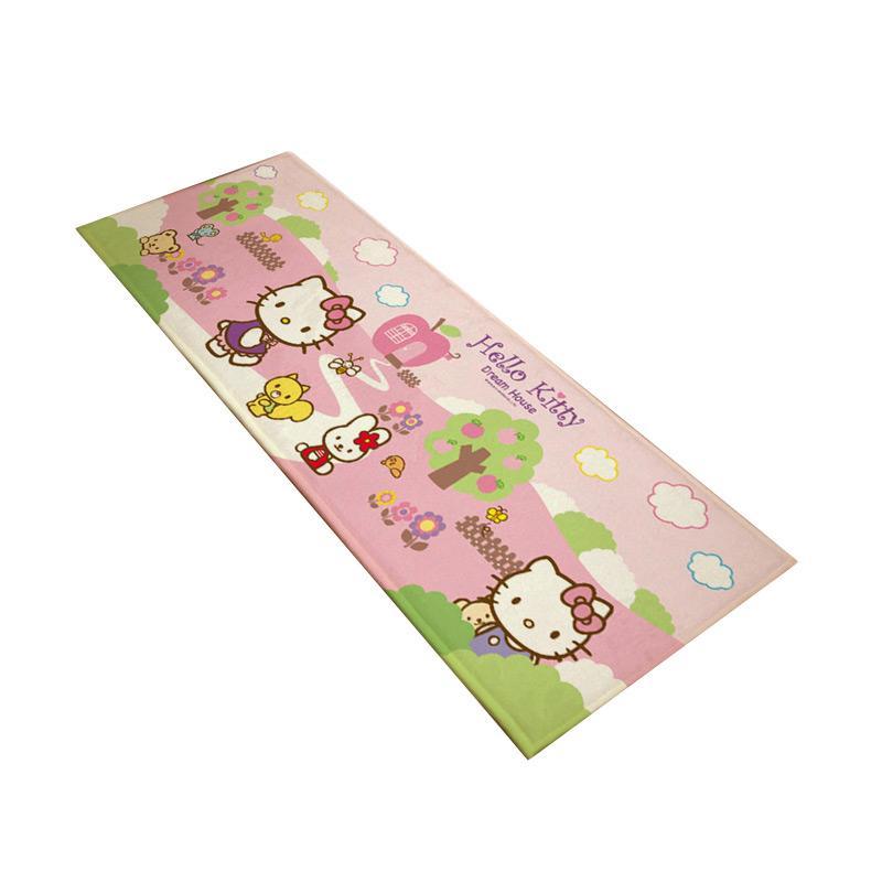 Hello Kitty HK Dream House Karpet - Multicolor [45 x 140 cm]