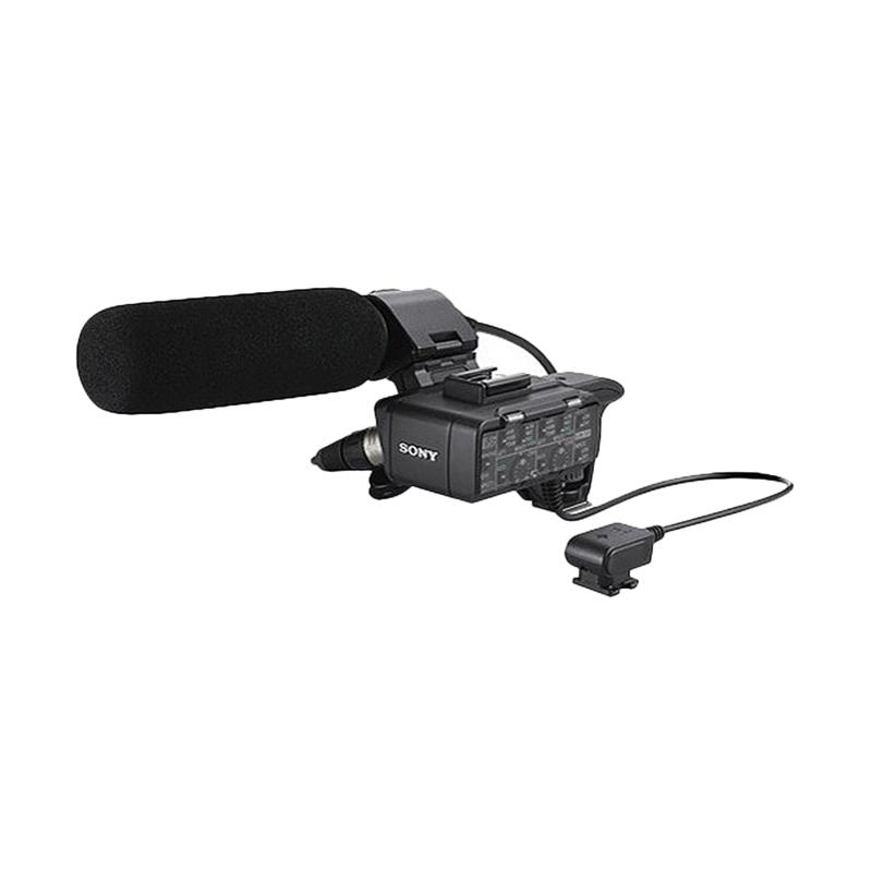Sony Alpha Ilce XLR-K1M Adapter and Microphone Kit - Hitam