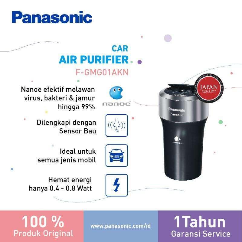 Panasonic F-GMG01AKN Car Air Purifier [Nanoe] - Virus & Germ Kill