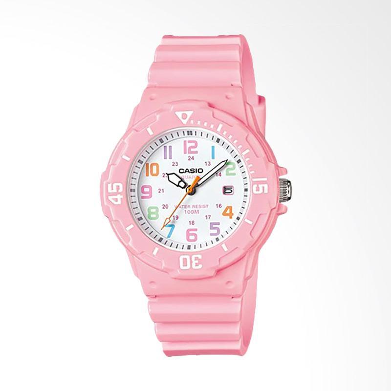 CASIO LRW-200H-4B2VDF Resin Band Jam Tangan Wanita - Pink