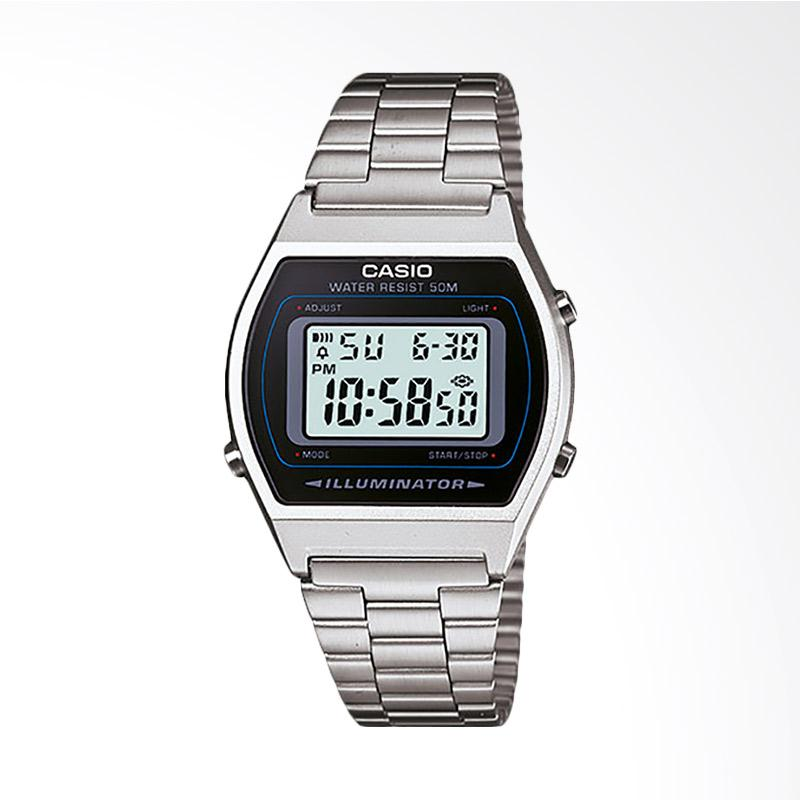 Casio Standard Jam Tangan Pria Silver B640WD 1AVDF