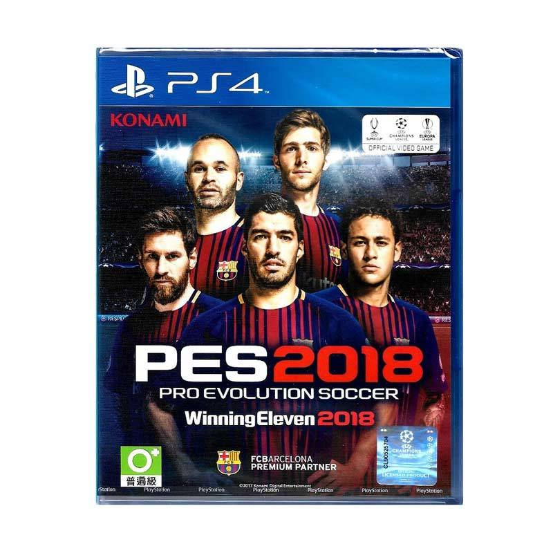 SONY PS4 PES 2018 Pro Evolution Soccer Winning Eleven 2018 R3 DVD Game