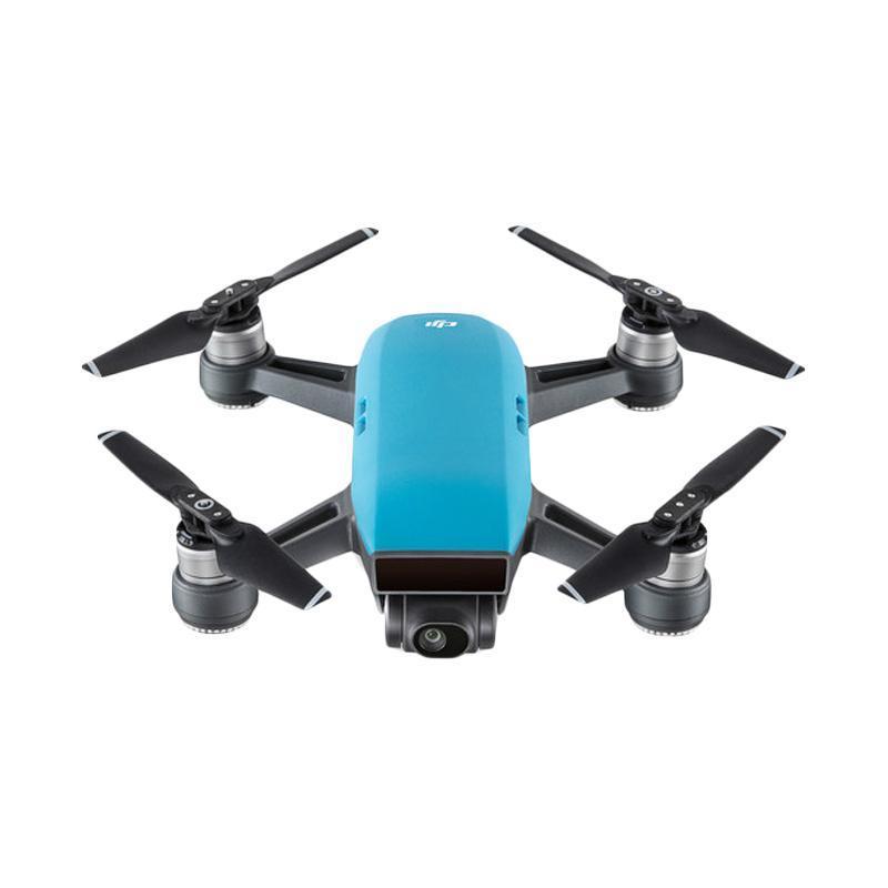harga DJI Spark Fly More Combo Drone Camera - Sky Blue - Ladang Blibli.com