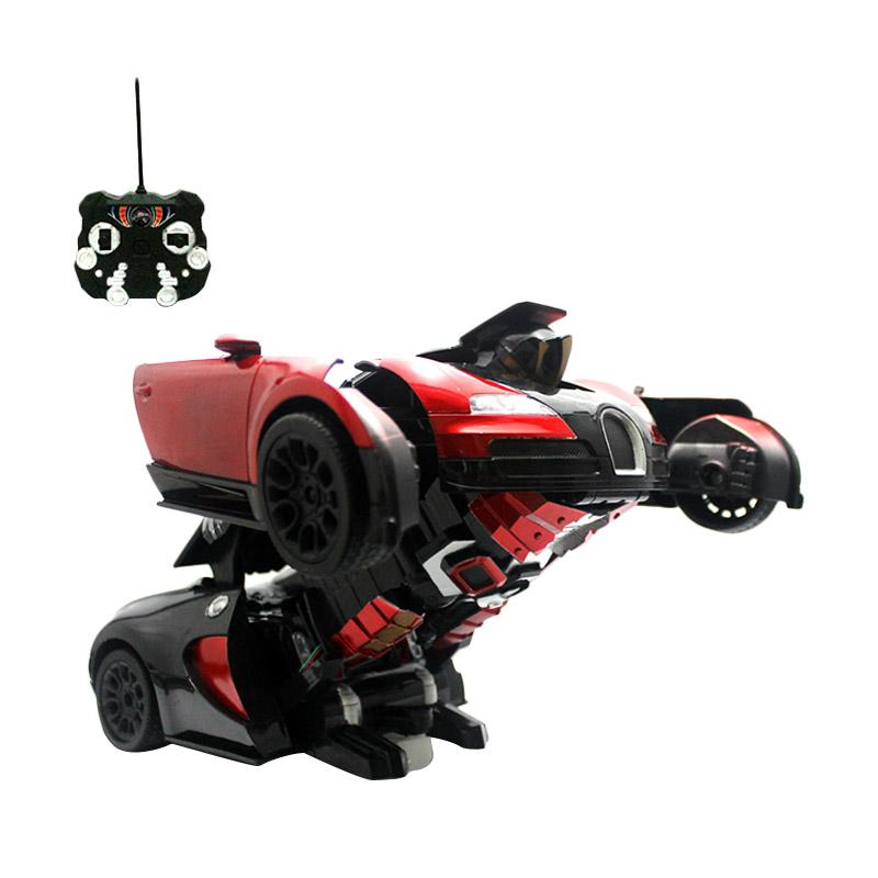 Enandem Transformer Autobot Veyron Mainan Remote Control - Red