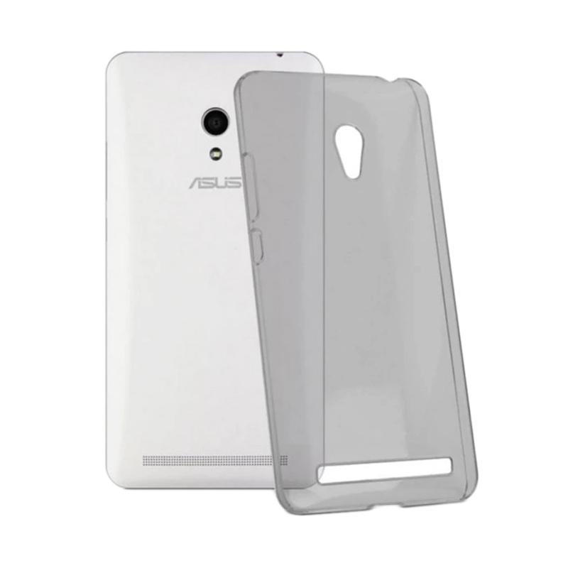 Ume Ultrathin Silicone Jelly Softcase Casing for Asus Zenfone 6 A600CG - Hitam