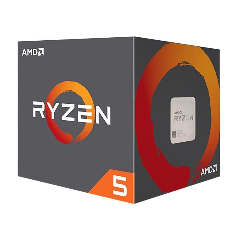 harga AMD AM4 RYZEN 5 2600X BOX WRAITH COOLER Blibli.com
