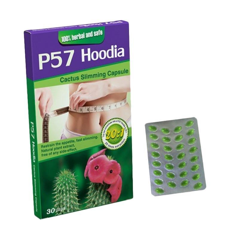 Simply P57 Hoodia Herbal Obat Pelangsing Badan [15 kg]