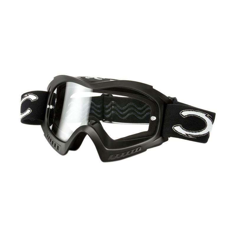 Xforce® Raider-OTG Moto Cross Kacamata Goggle - Matte Black