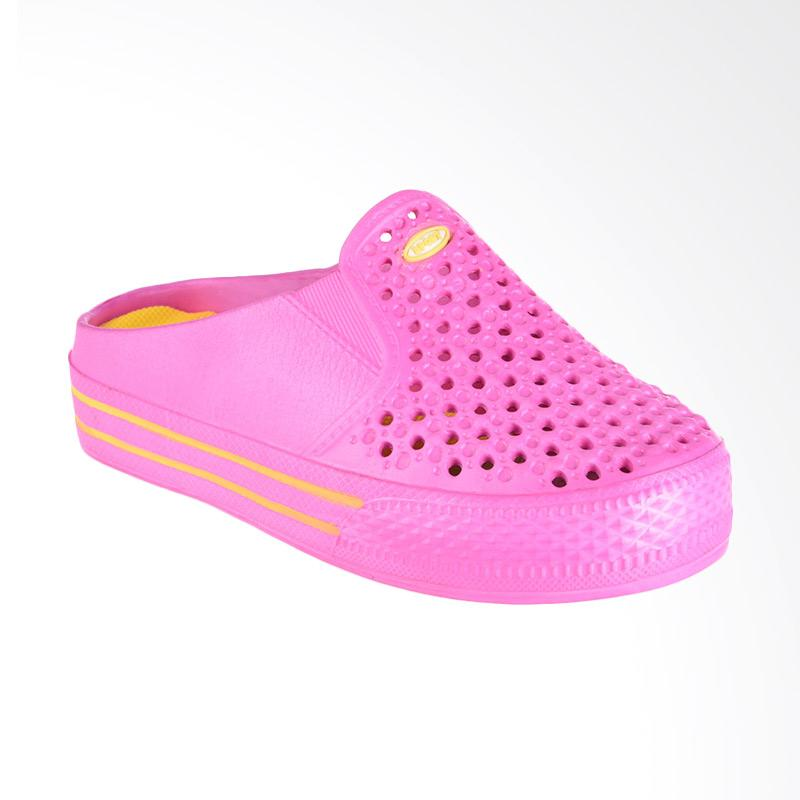 NOEL Full Warna Slip On Sandal - Pink