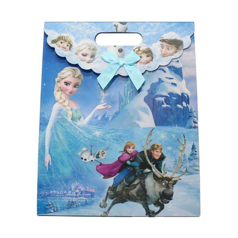 KUKUK PBG-CRTNM Kartun Frozen Paper Goodie Bag [Sedang]
