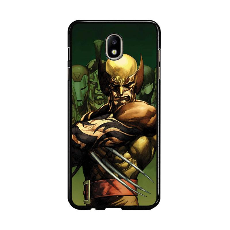 Flazzstore Dark Wolverine X-Man And Friend F0376 Custom Casing for Samsung Galaxy J5 Pro 2017