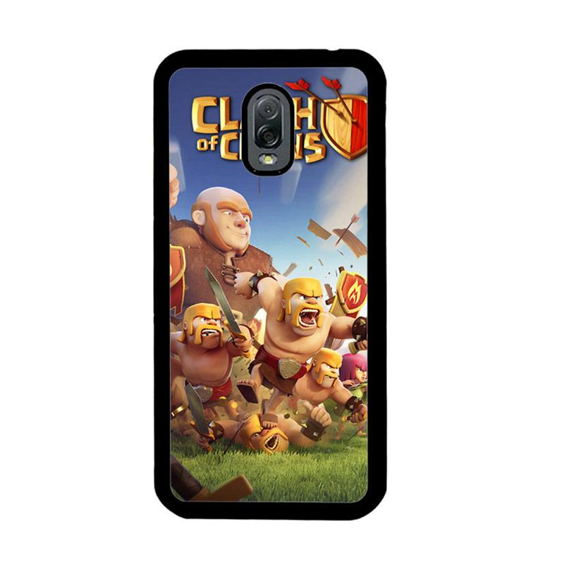 Flazzstore Clash Of Clans Mobile Games Z0430 Custom Casing for Samsung Galaxy J7 Plus