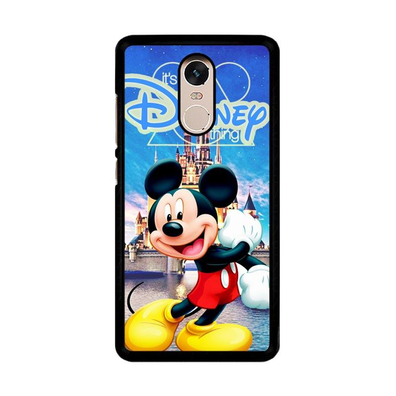Flazzstore Mickey Mouse Disney Z0548 Custom Casing for Xiaomi Redmi Note 4 or Note 4X Snapdragon Mediatek