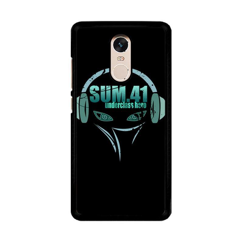 Flazzstore Sum 41 R1 Z0819 Custom Casing for Xiaomi Redmi Note 4 or Note 4X Snapdragon Mediatek