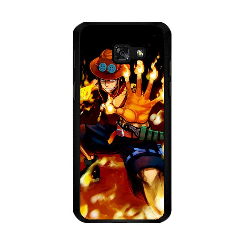 Flazzstore One Piece Portgas D Ace Fire Cool Z0660 Custom Casing for Samsung Galaxy A5 2017