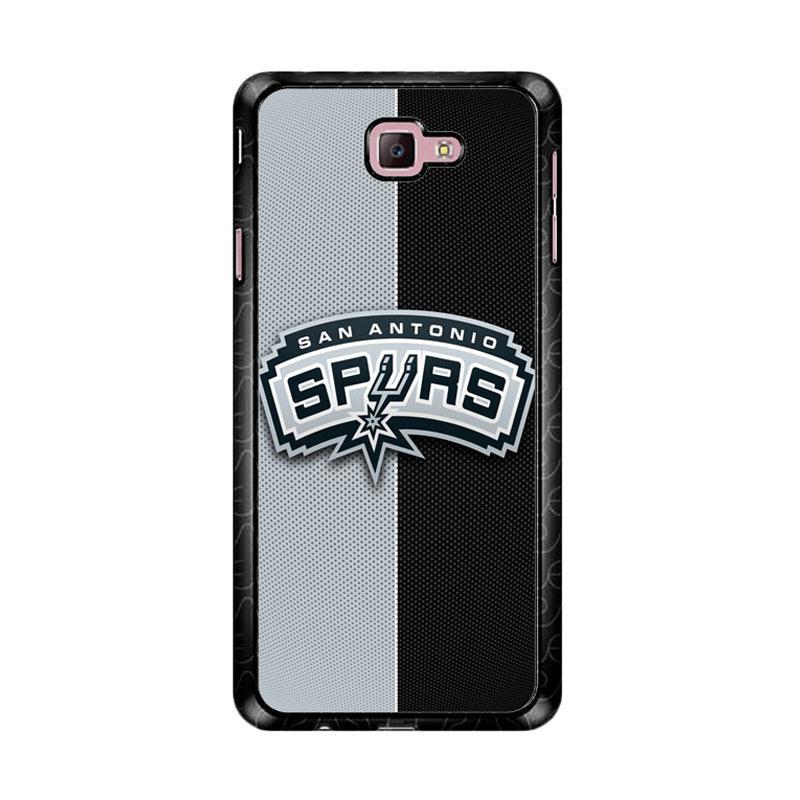 Flazzstore San Antonio Spurs Z4805 Custom Casing for Samsung Galaxy J7 Prime