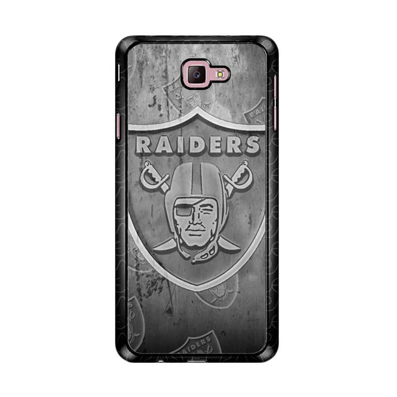 Flazzstore Oakland Raiders Z4855 Custom Casing for Samsung Galaxy J7 Prime