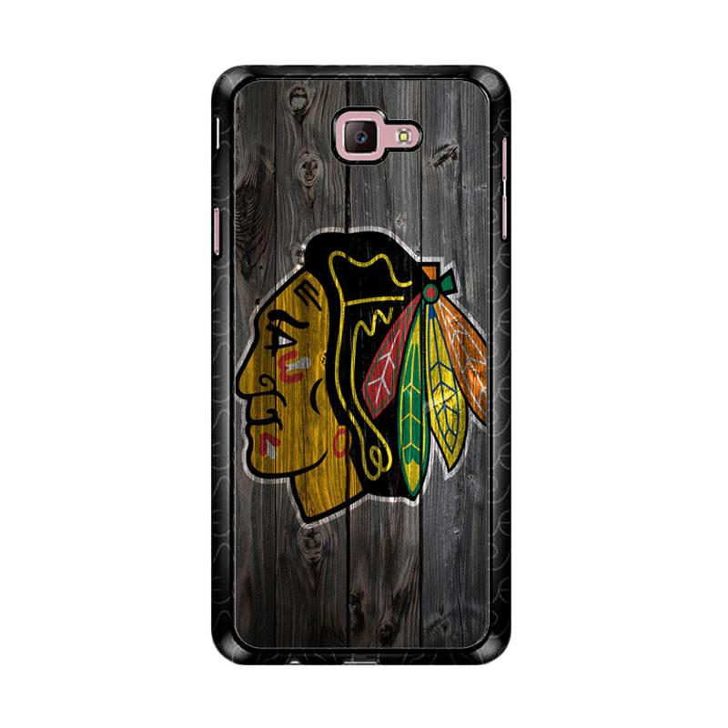 Flazzstore Chicago Blackhawks Z4857  Custom Casing for Samsung Galaxy J7 Prime