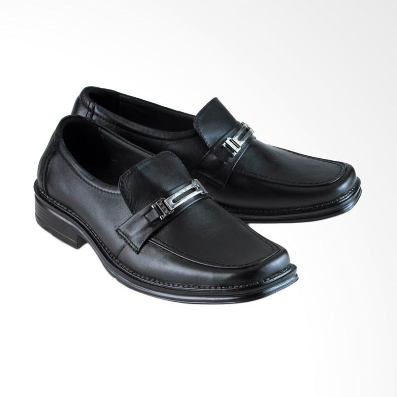 Golfer Pantofel Formal Sepatu Pria - Black  6025  b2a1abdabd
