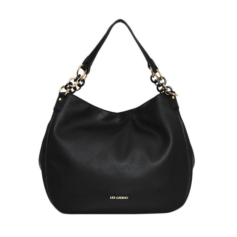 Lescatino Tokyo Meguro Co Shoulder Bag Wanita Black