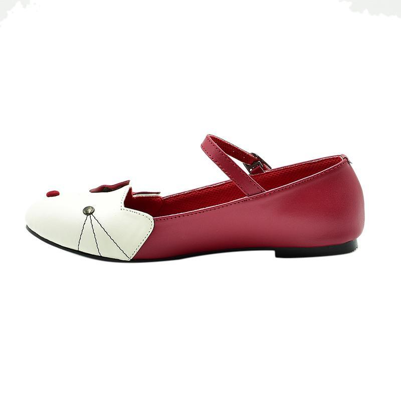 Azzurra 1521 01 Sepatu Casual Anak Perempuan Merah
