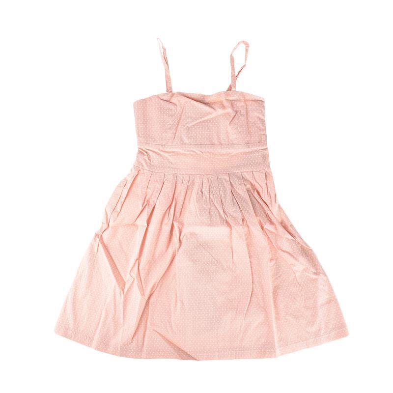 Cabriole 091 Adel & Audrey Dress Anak - Pink