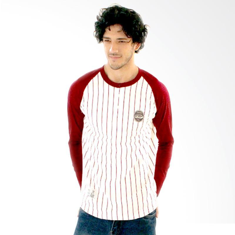 Abraham GS 0419 T-Shirt Pria - Marun